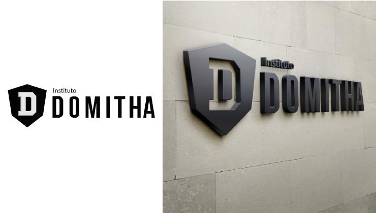 Criação de identidade visual para o Instituto DOMITHA.
