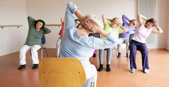 FAE Sênior - Oficina Yoga na Cadeira