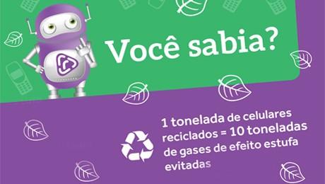 FAE SJP arrecada celulares usados para reciclagem. Renda será revertida ao Hospital Pequeno Príncipe.