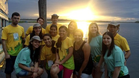 Grupo formado por professores e estudantes esteve durante 16 dias no Estado do Pará.