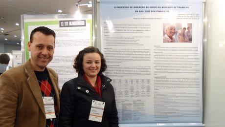 Pesquisa desenvolvida no PAIC é apresentada em Congresso de Geriatria e Gerontologia.