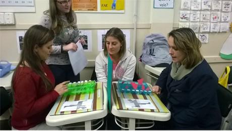 Alunos de Pedagogia inovam na maneira de ensinar Matemática para a educação infantil.