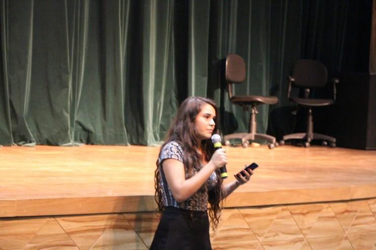 Sabin Khouri falou sobre a experiência da família como refugiados da Síria.