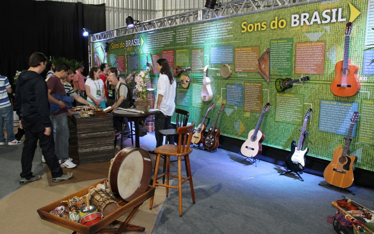 Feira de Gestão 2012 - Identidade Brasil  | Área de Exposição
