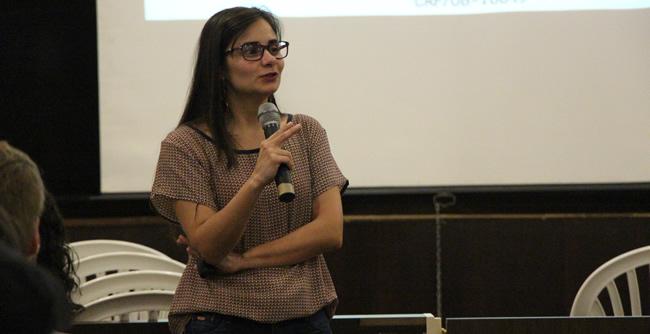 Palestra faz parte de um ciclo de palestras promovidas pelo curso de Psicologia da FAE