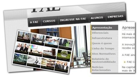 O novo site da FAE poderá ser aberto tanto em computadores e notebooks, quanto nos mais variados dispositivos móveis.