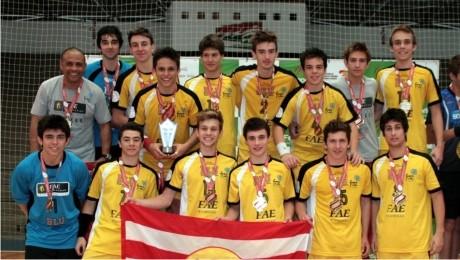 Neste final de semana, equipe de handebol da FAE Blumenau/FMD disputa vaga para o Campeonato Brasileiro.