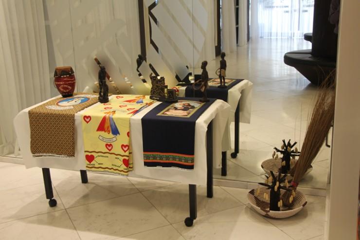 Objetos de uso diário do povo angolano.