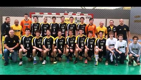 Equipe da FAE inicia disputa do Campeonato Estadual Juvenil, em Santa Catarina.
