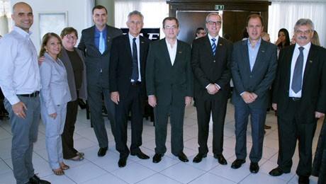 Nesta terça-feira, importantes executivos do cenário nacional confraternizaram e celebraram a Páscoa.