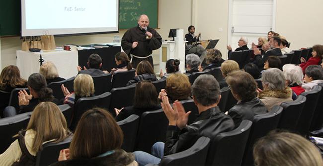 Palestra foi tema da aula inaugural do 2.ºsemestre do FAE Sênior