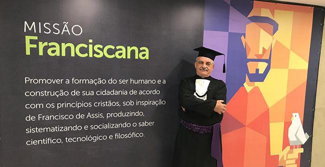 Em 2020 Antoninho Caron completa 45 anos dedicados à Instituição