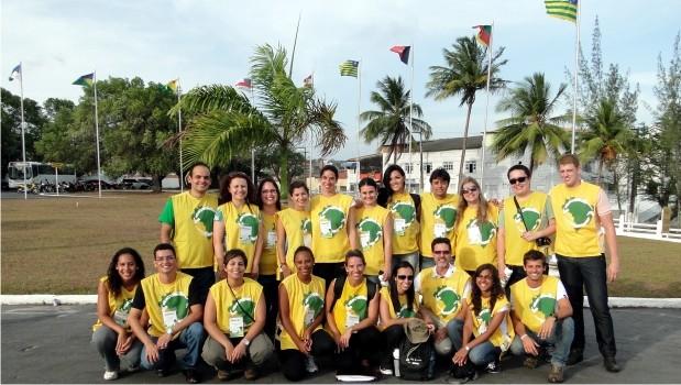 Rondonistas da FAE desembarcam em Aracaju/SE para o início da missão.