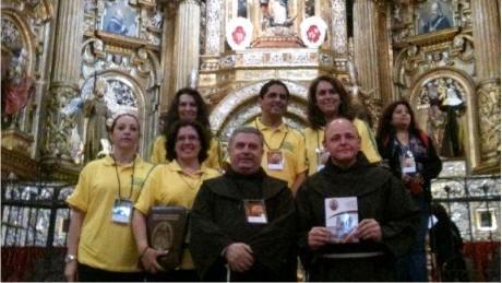 Membros da AFESBJ participam de evento  no Equador.