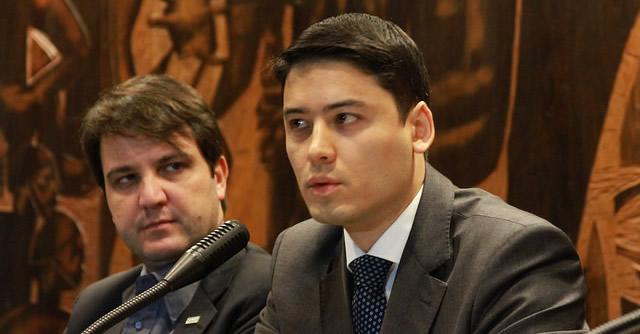 Diálogo ocorreu durante palestra ministrada pelo delegado da Polícia Federal, Felipe Eduardo Hideo Hayashi