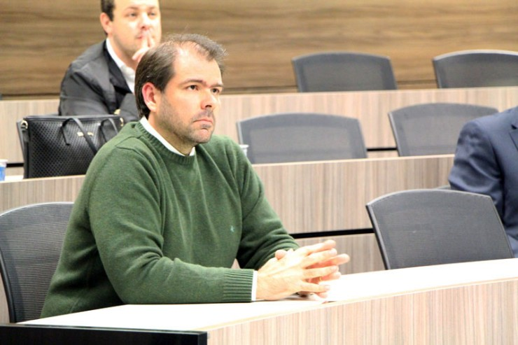 O diretor de Infraestrutura do departamento de TI da Vivo Paraná, Alexei Korb.