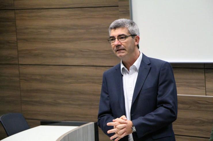O diretor de Projetos de TI da Vivo Paraná, Daniel Varesio.