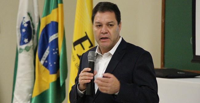 Adalberto Vasconcelos, secretário do Programa de Parcerias de Investimentos participou de um bate-papo com convidados