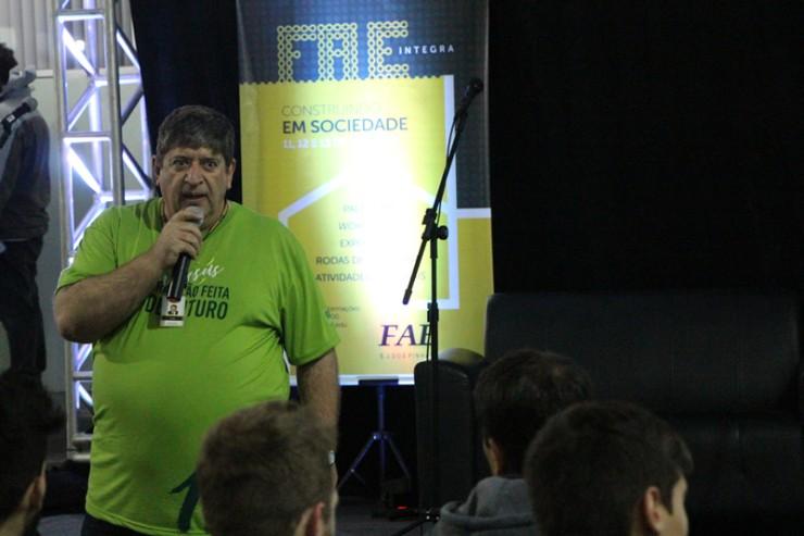 Élcio Douglas Joaquim, diretor da Faculdade FAE São José dos Pinhais.