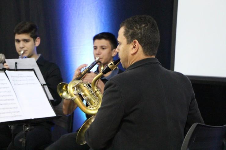 Grupo Quinteto de Metais.