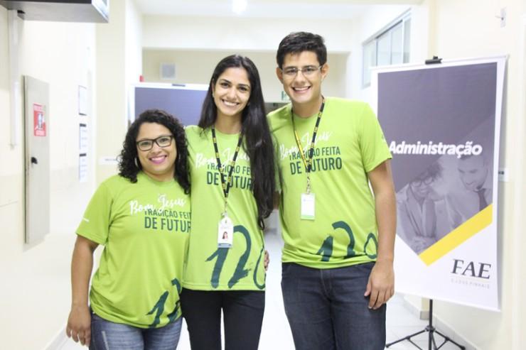 Colaboradores da Faculdade FAE São José dos Pinhais.