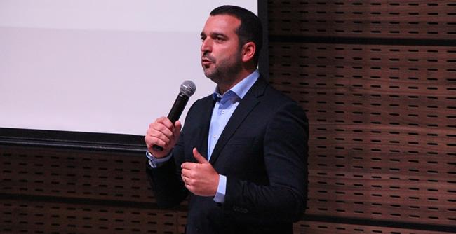 Palestra com empresário Eduardo Jaime destacou as características e os desafios para quem pretende iniciar um projeto
