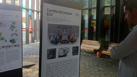Na próxima segunda (28), o Prédio I da FAE Centro Universitário receberá a exposição itinerante do Prêmio Bom Design.