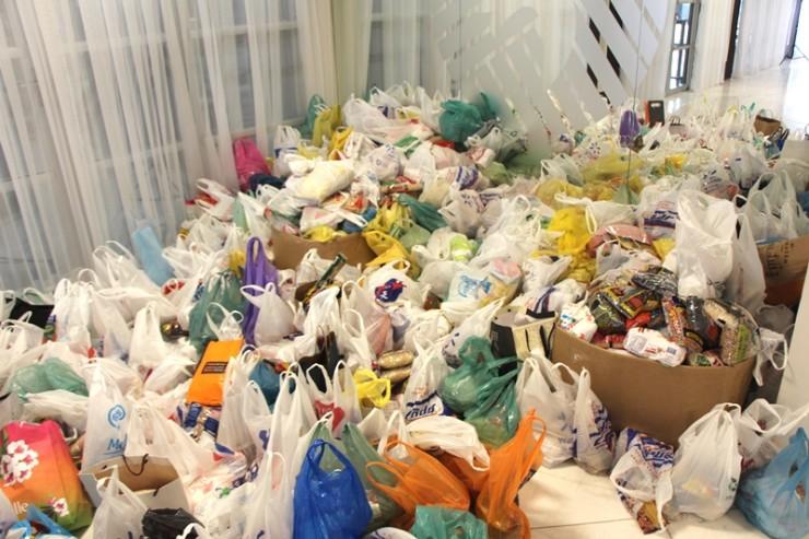 Donativos arrecadados foram entregue as Instituições