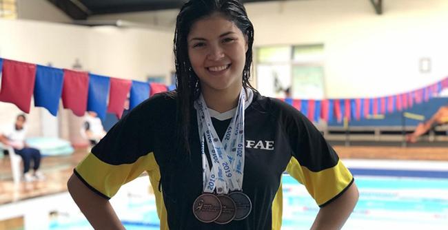 Estudantes participaram de competições estaduais e dos Jogos dos Calouros 2019