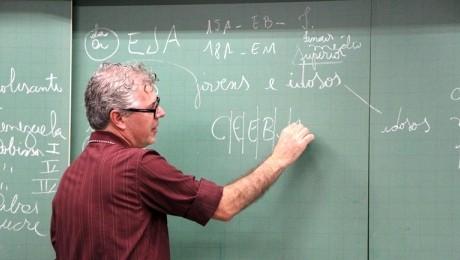 Educação de Jovens e Adultos foi tema de palestra do especialista Antenor da Cunha França Júnior