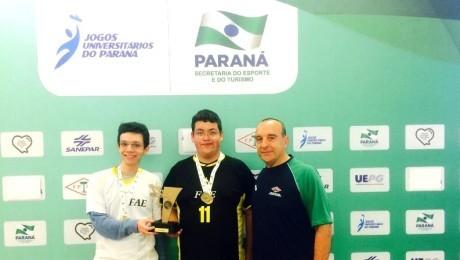 Competição classificou atleta para o campeonato nacional