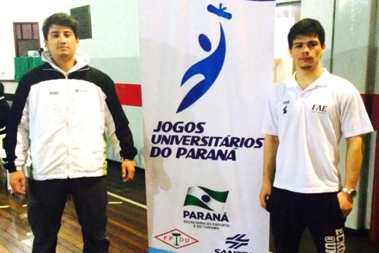Sander e Marcos, atletas do Judo^