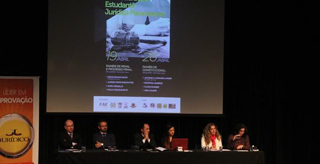 Evento promoveu a integração do movimento estudantil e debates sobre Direito Constitucional e Penal