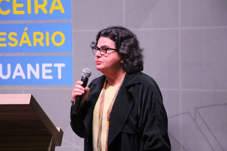 Gina Paladino, presidente da Agência Curitiba de Desenvolvimento.