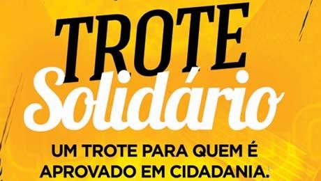 Pastoral Universitária lança ação solidária. Trotes abusivos serão penalizados.