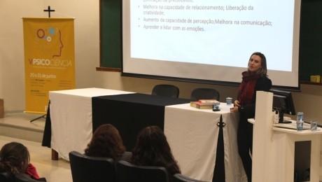 Quinta edição do evento reuniu alunos, professores e profissionais da área de Psicologia