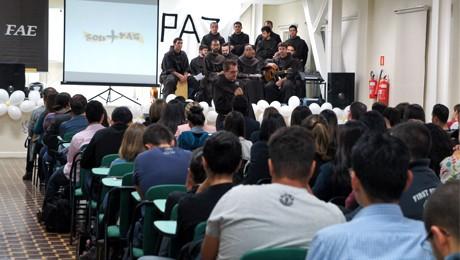 Eventos ecumênicos reúnem alunos na FAE SJP e FAE Prédio II.