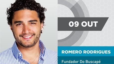 """Romero Rodrigues estará em Curitiba (PR) no dia 9 de outubro para falar sobre """"Gestão do Futuro""""."""