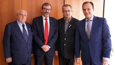 Representantes da Espanha visitam a FAE Centro Universitário para estreitar relações e criar novas oportunidades acadêmicas.
