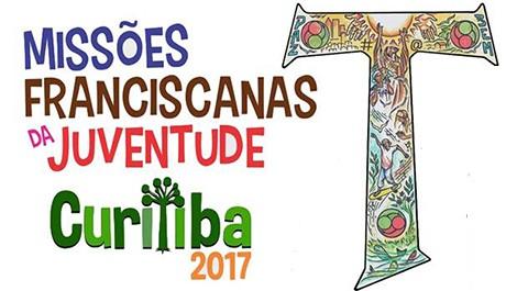 As Missões Franciscanas de Juventude 2017 acontecerão em Curitiba no mês de janeiro