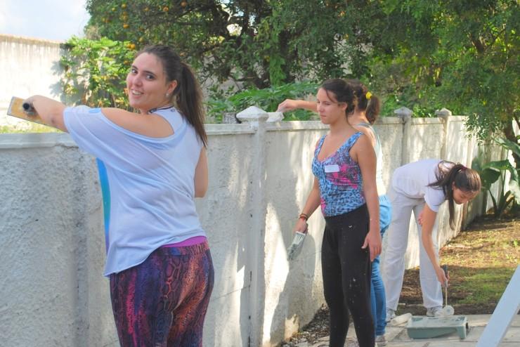 Visita ao Asilo Bom Jesus.Foto: Thalyta do Pilar Pereira Nette
