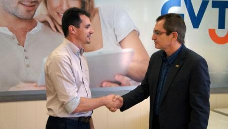 Evento marca parceria entre instituição e empresa de telecomunicações.