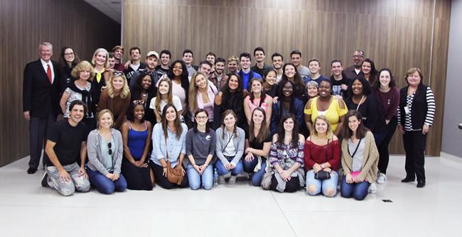 Programa de intercâmbio entre as instituições franciscanas promove encontro entre alunos