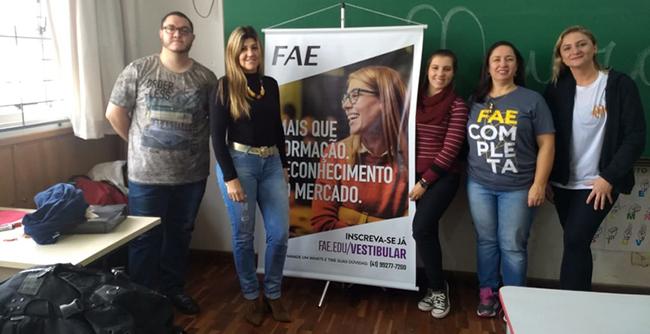 FAE e Neurobanco promovem atividade para a comunidade