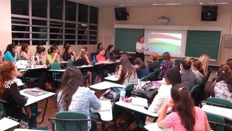 Estudantes conheceram como funciona a atuação do profissional em organizações