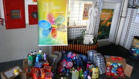 Arrecadação de donativos será destinada para instituições beneficentes