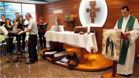 Celebração Eucarística lança campanha de arrecadação de instrumentos musicais