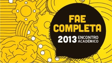 Na próxima terça-feira começa o FAE Completa. Serão três dias de palestras, workshops e oportunidades para os alunos da FAE Centro Universitário.