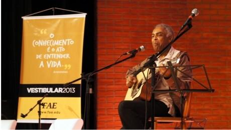 Aulão do Programa Eureka e palestra com Gilberto Gil fizeram parte da programação.