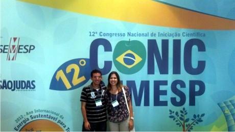 Alunos da FAE participaram do maior congresso de iniciação científica do país.